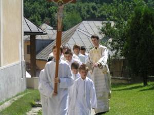 Chrámový sviatok - slávnostná liturgia (nedeľa)